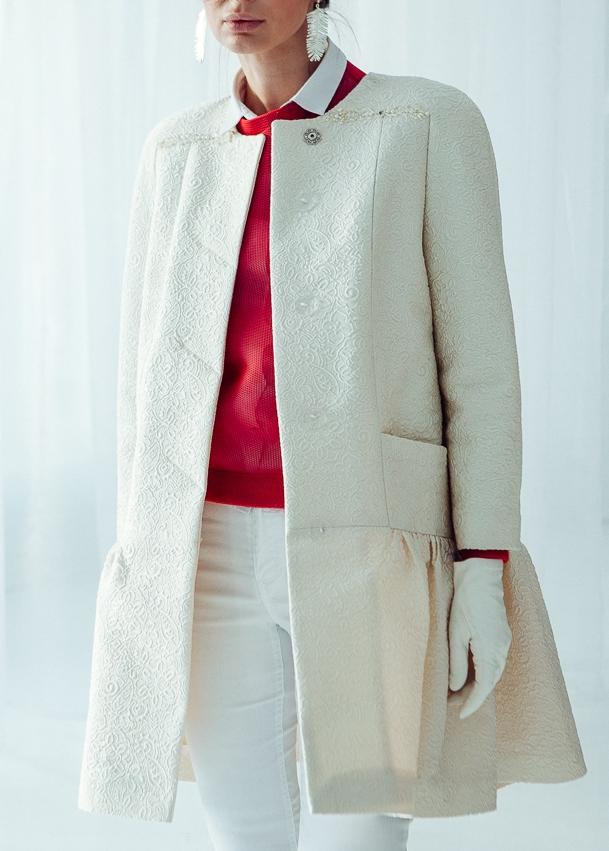 1d211d2e6f8 ... женское пальто по индивидуальным размерам  светлое демисеонное пальто  ...